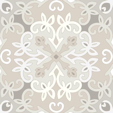 Elegant seamless ethnic pattern.  Vector
