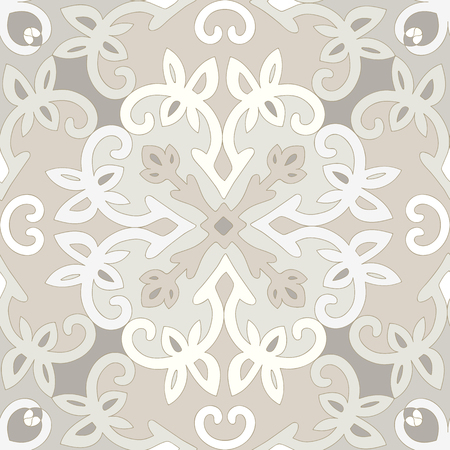 ligature: Elegant seamless ethnic pattern.  Illustration