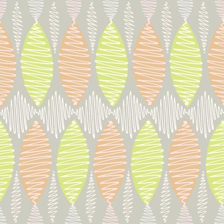 arbitrary: Modelo incons�til del vector. Winding trazos de colores n�tidos delgadas se tambale�. Fondo gris, elementos blancos en tonos pastel y naranja brillante y acentos de color verde claro. Vectores