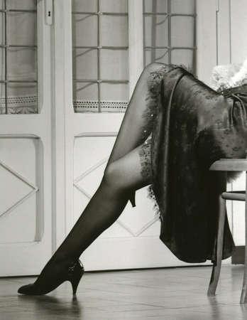 Womans legs.