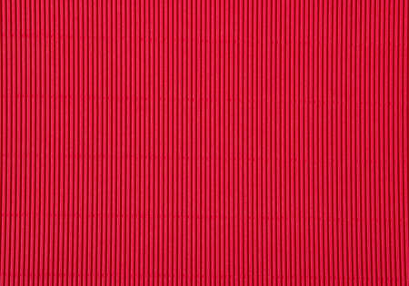 red sheet: Red corrugated cardboard