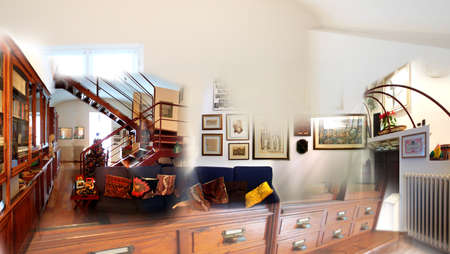 Collage of home interiors  Stock Photo - 22131250