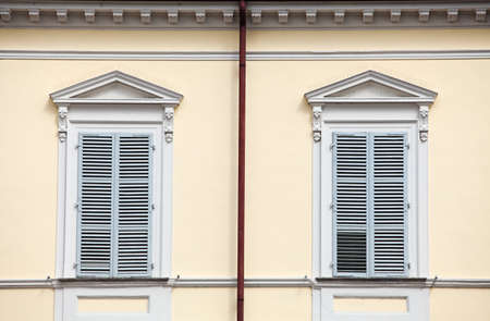 Windows. Features of Italy photo