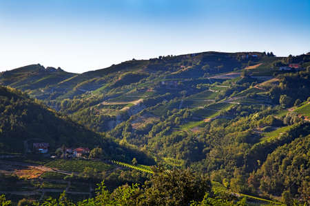 Cossano Belbo (Piedmont, Italy): landscape photo