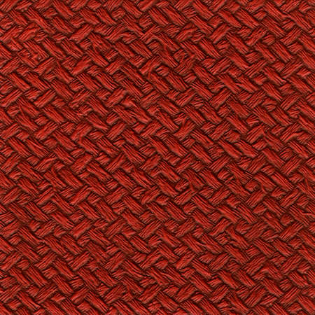 Red leather (or synthetic material) texture.
