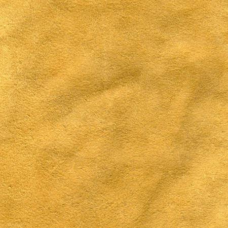 Yellow leather texture. photo