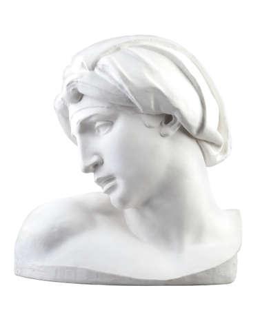 Exemplaar van beeldhouwwerk van Michelangelo (Aurora, Tomba Medicea, Tomba di Lorenzo de 'Medici) Stockfoto