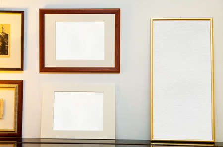 Three empty frame ( with space for your photos) photo