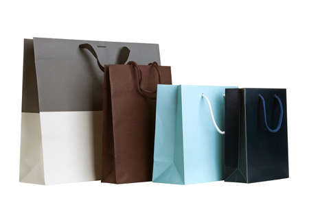 Several shopping bags. Stok Fotoğraf
