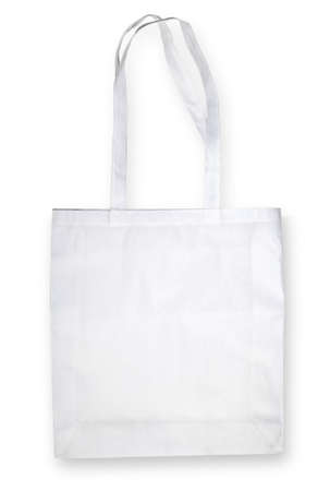 Nonwoven bag on white with shadow