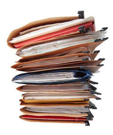 folder: Pila de carpetas colgantes.