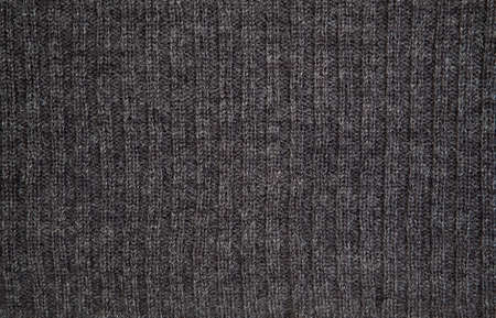 knitwear: Background of gray wool (detail of knitwear).