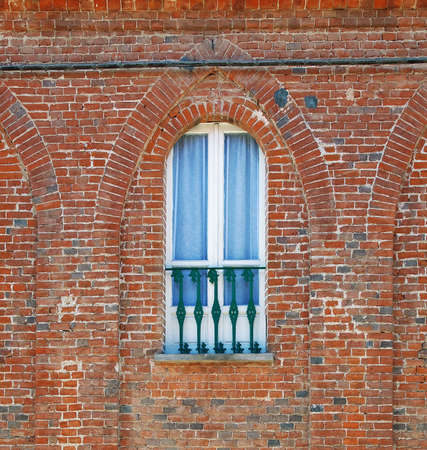 Detail of Italian old house Stock Photo - 26572287