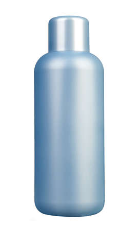 Plastic bottle with soap or shampoo Stock Photo - 27280880