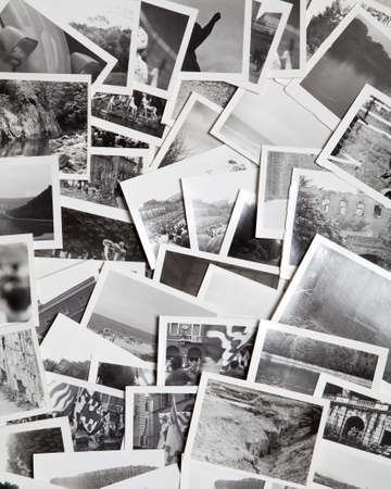 A pile of vintage photographs (1970s)