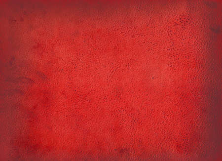 old leather: Red background ( old leather)