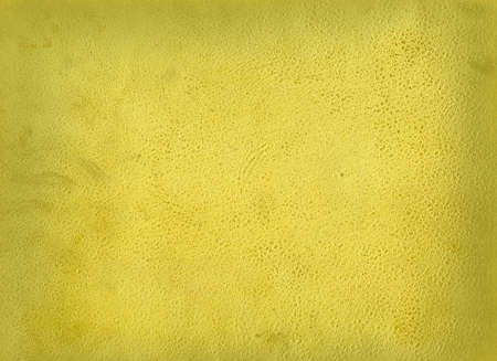 old leather: Yellow background ( old leather) Stock Photo