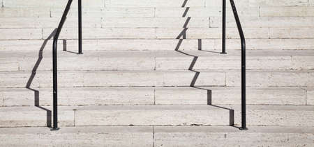 Italian Travertine Staircase