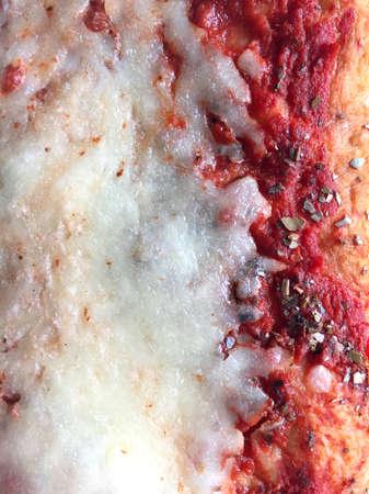 Detail of a slice of pizza Archivio Fotografico - 95405400