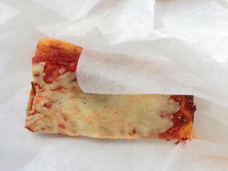 A slice of Italian pizza Archivio Fotografico - 95726183