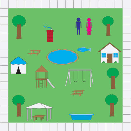 playground icons Illustration