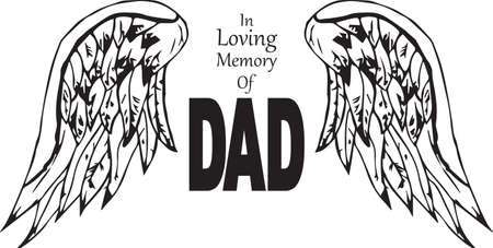 In loving memory of dad