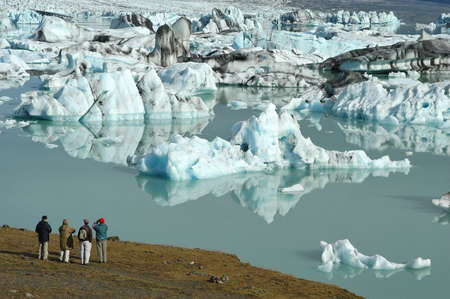 iceland: Jokulsarlon Glacier Lake in Iceland