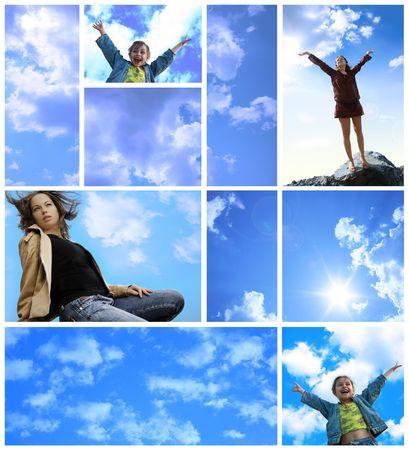 Freude und Freiheit Montage