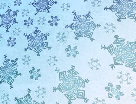 snowflakes - beautiful christmas background Stock Photo - 1961707
