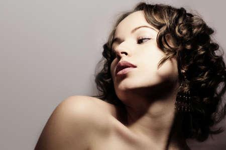 Beautiful woman. Fashion art photo