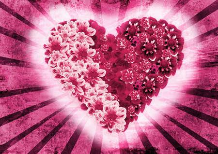 valentine vintage background  photo