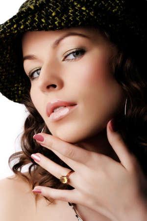 Beautiful woman. Makeup & Fashion photo