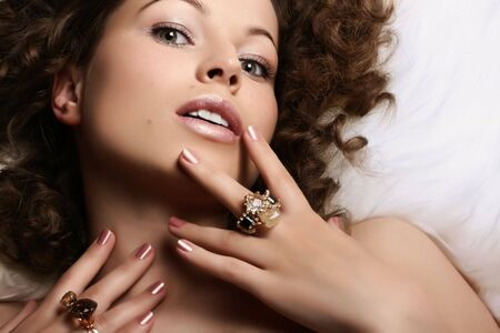 Jewelry and Beauty. Fashion art photo Stock Photo - 2855938