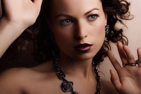 Jewelry and Beauty. Fashion art photo photo