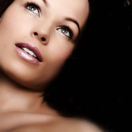 Sch�ne Frau. Make-up und Sch�nheit  Lizenzfreie Bilder