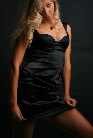 Beautiful blond girl. Fashion art photo Stock Photo - 3405989
