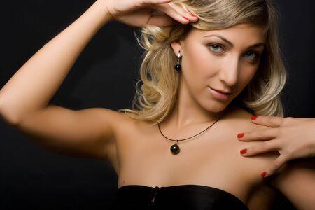 Beautiful blond girl. Stock Photo - 3421094