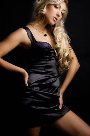Beautiful blond girl.  Stock Photo - 3421093