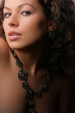 Beautiful woman. Fashion art photo.  Jewelry and Beauty Stock Photo - 3549966