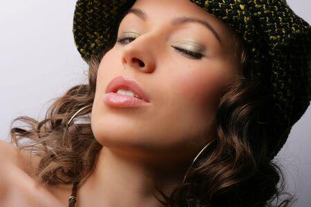 Beautiful woman. Makeup & Fashion Stock Photo - 3549959