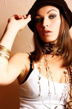Glamour Party Girl. Fashion Photo Stock Photo - 3744386