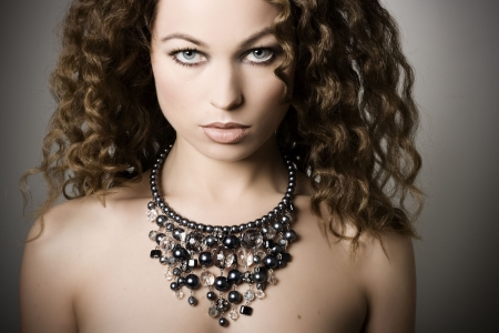 Beautiful woman. Fashion art photo Stock Photo - 4813173