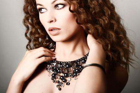 Beautiful woman. Fashion art photo Stock Photo - 4813079
