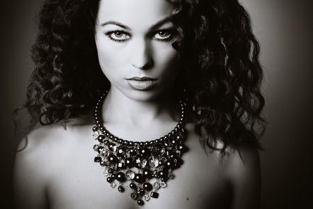 Beautiful woman. Fashion art photo Stock Photo - 4841922