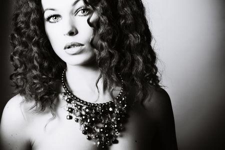 Beautiful woman. Fashion art photo Stock Photo - 4841938