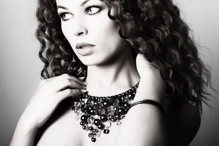 Beautiful woman. Fashion art photo Stock Photo - 4841925