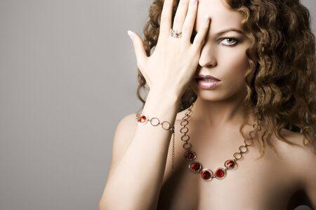 Sch�ne Frau. Fashion art photo
