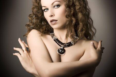 Beautiful woman. Fashion art photo Stock Photo - 5179899