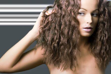 Beautiful woman. Fashion art Stock Photo - 5214431