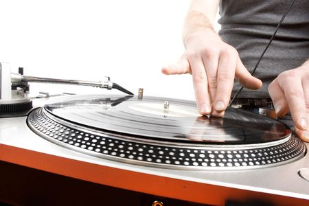 electro: DJ spielen Disco House progressive Electro music